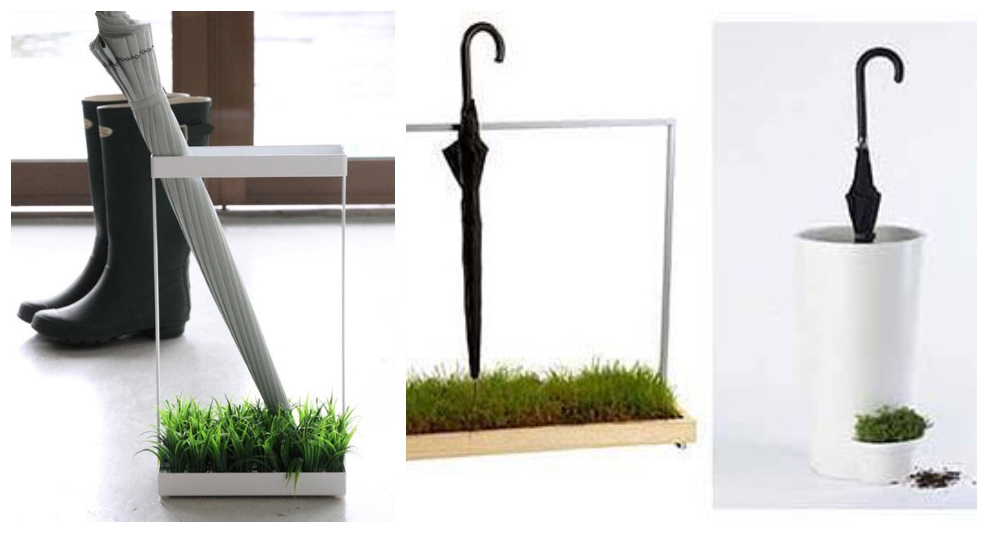 Paragüeros ecológicos: hermosos diseños
