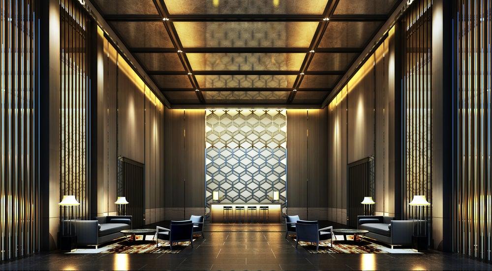 Cómo decorar el hall de entrada de un hotel