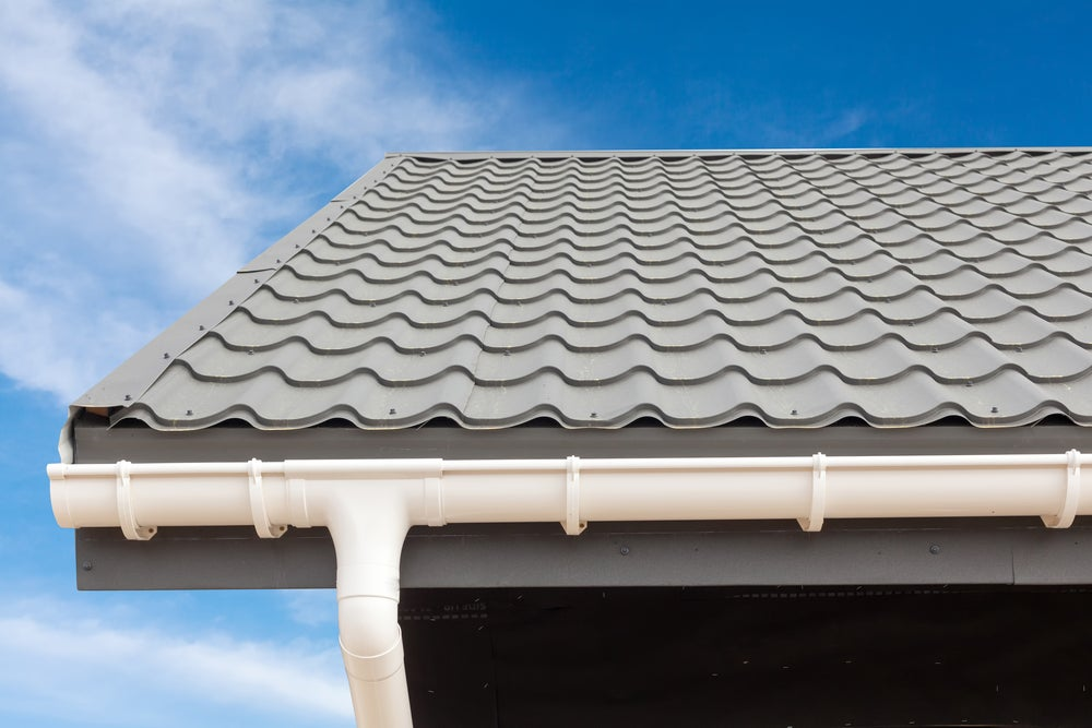 Install gutters to promote good drainage.