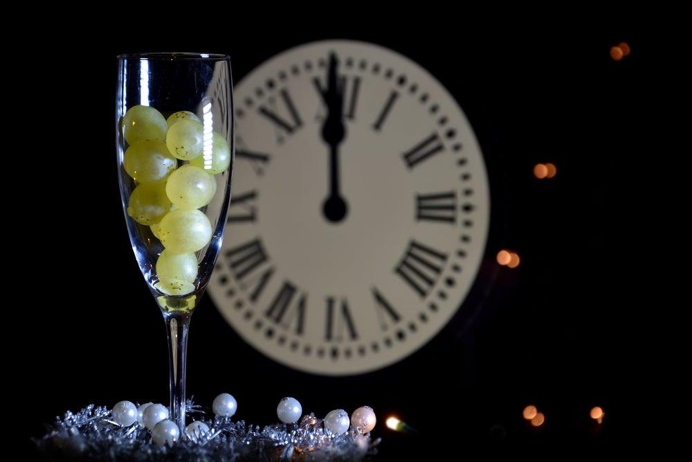 Uvas para Nochevieja.