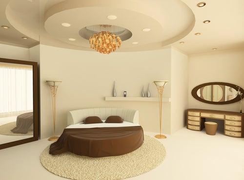 Dale un toque original a tu dormitorio con las camas redondas