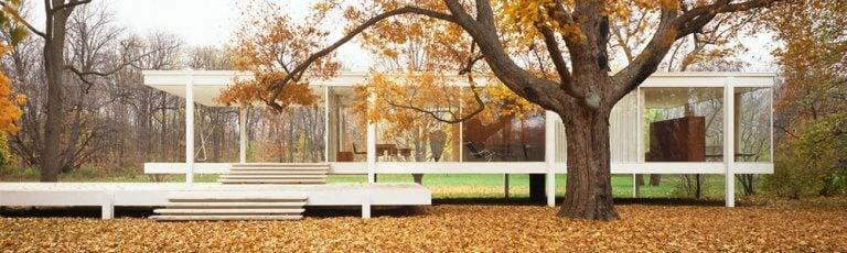La Casa Farnsworth: una estructura básica y funcional
