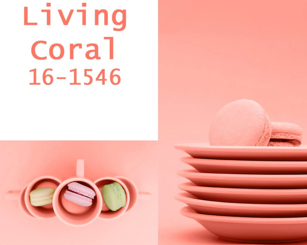 Color del año Living Coral.