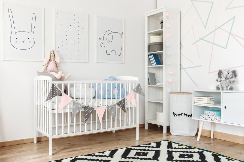 Dormitorio de un recién nacido.
