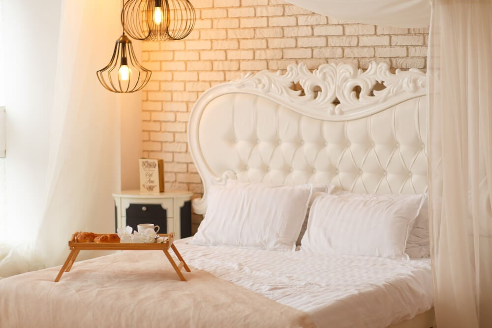 Habitación romántica.