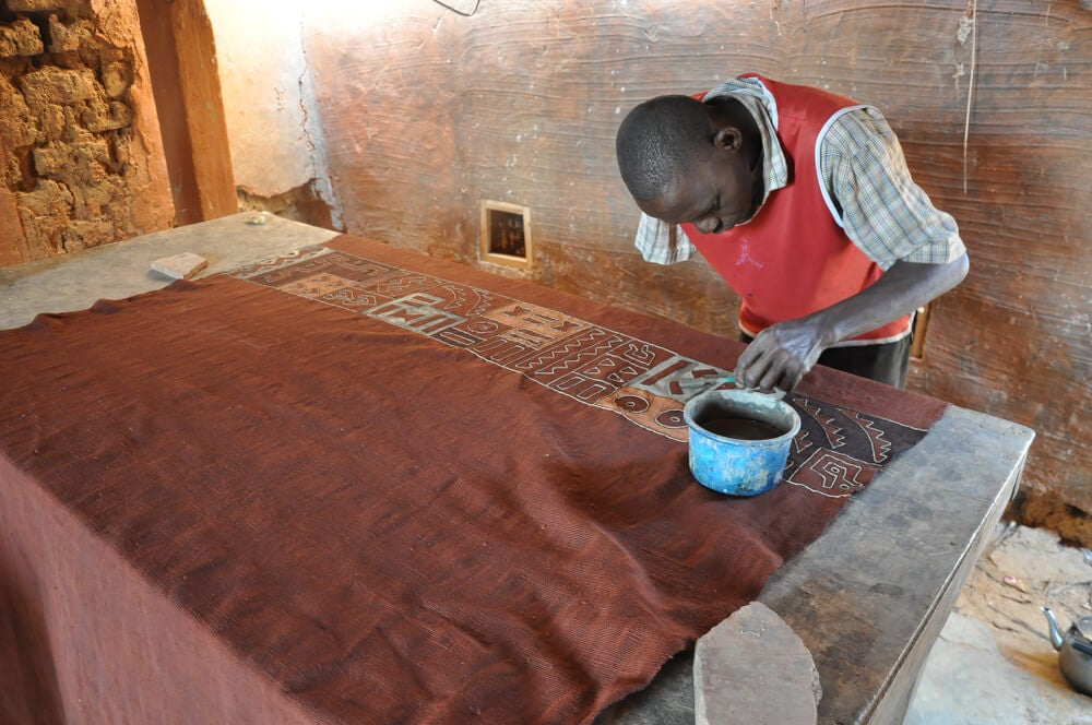Historia del Mud Cloth.