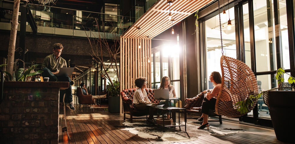 Coworking spaces need plenty of natural light.