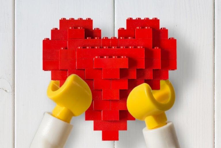 Decoraciones con LEGO para tu hogar