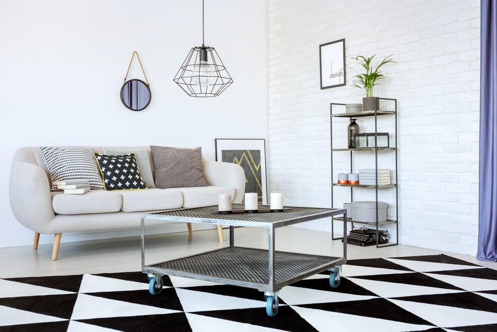 Mesas de metal para añadir a tu decoración