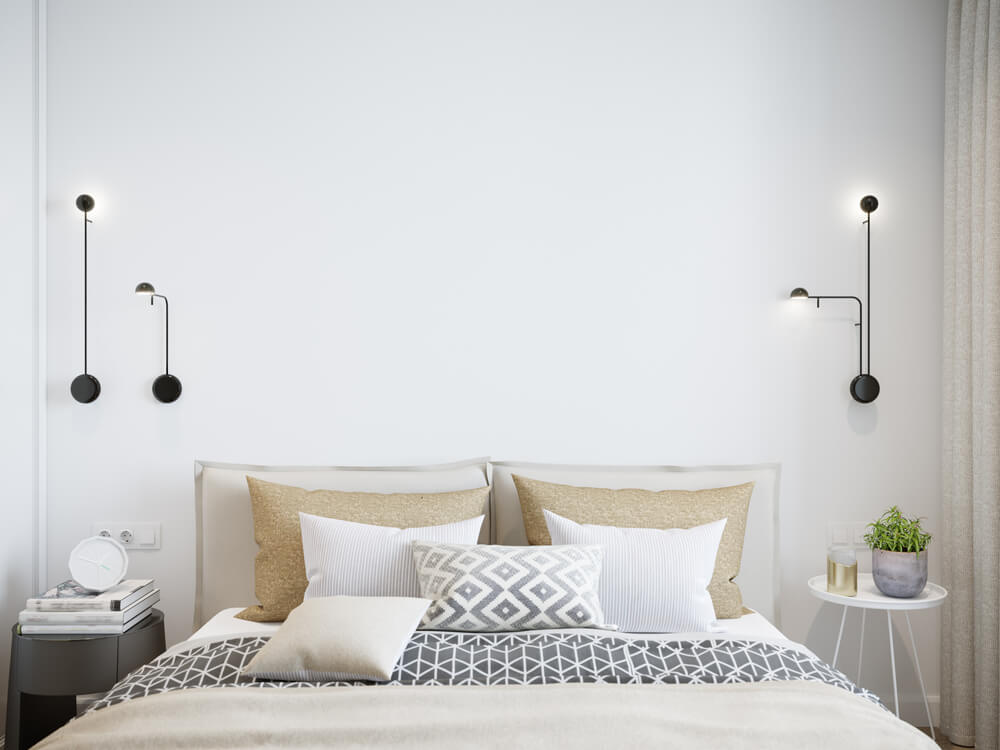 Mini mesitas para dormitorios pequeños