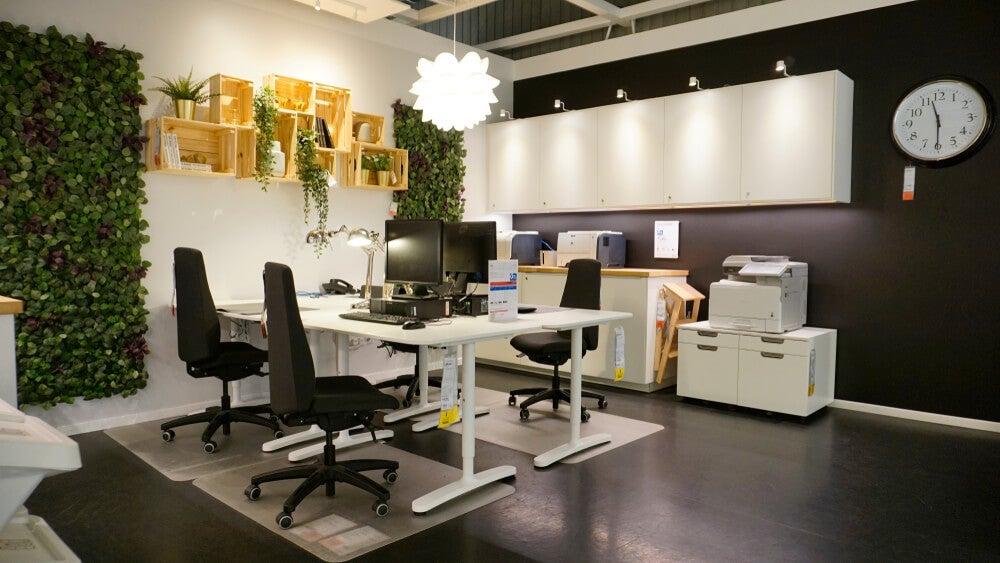 Tienda de mobiliario de oficina.