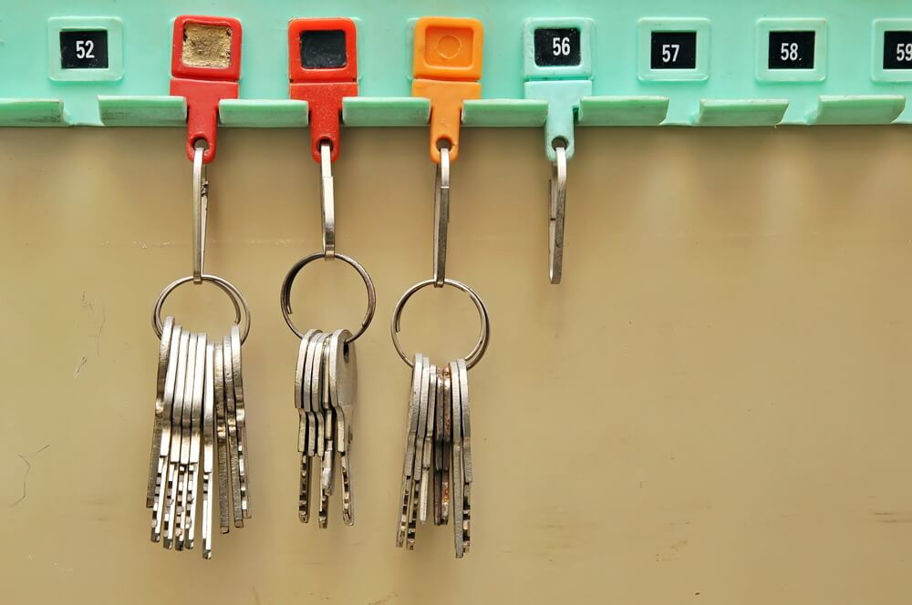 It's important to get your keys organized.