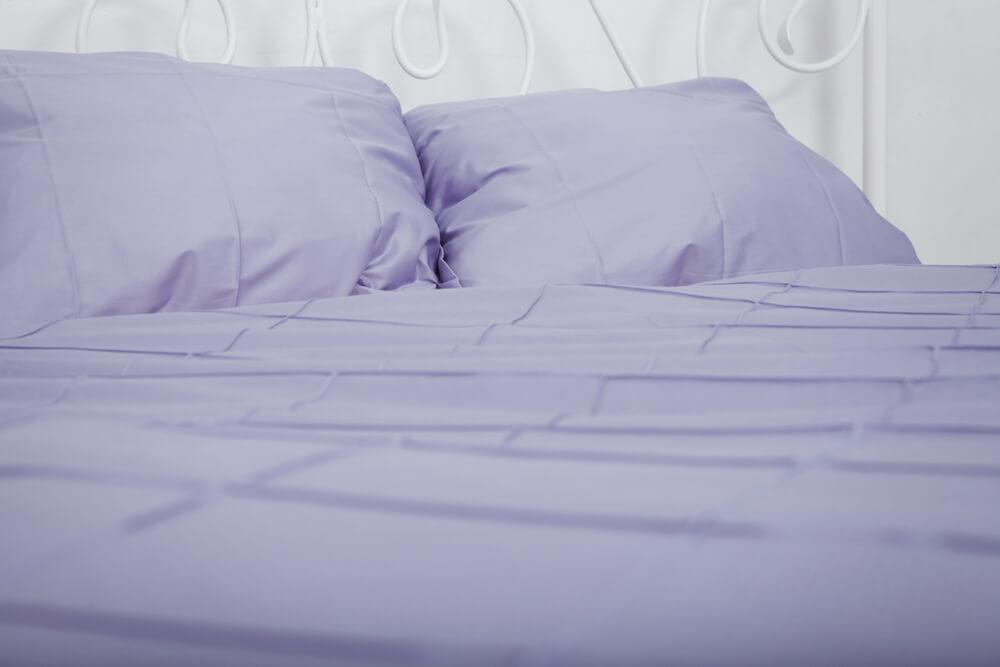 Tipos de sábanas para la cama.