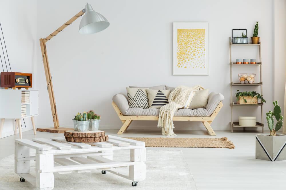 Accesorios decorativos escandinavos.