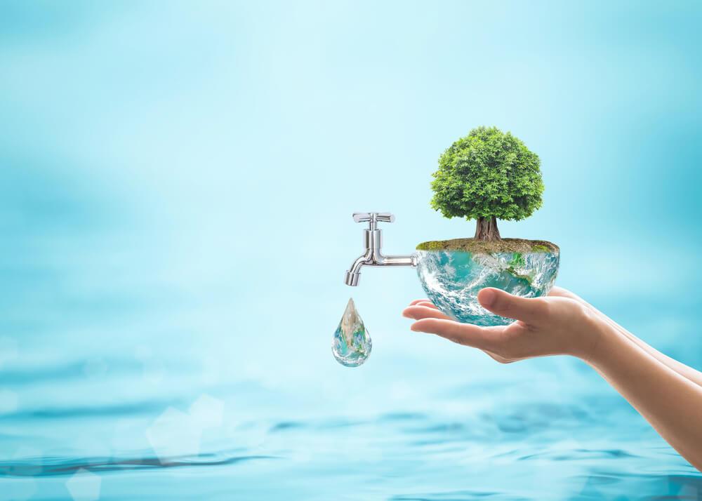 Risparmia l'acqua in casa.