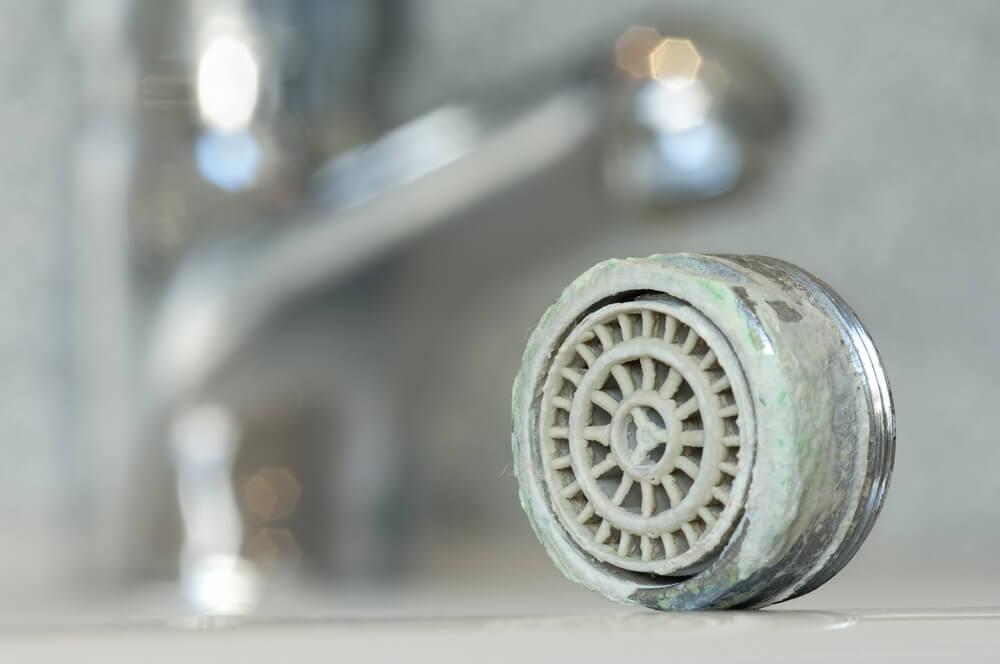 Cal en la ducha.