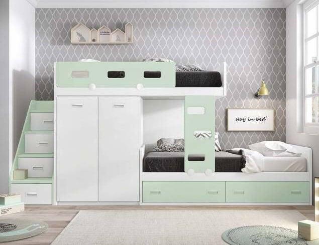 La cama nido, la mejor forma de ahorrar espacio