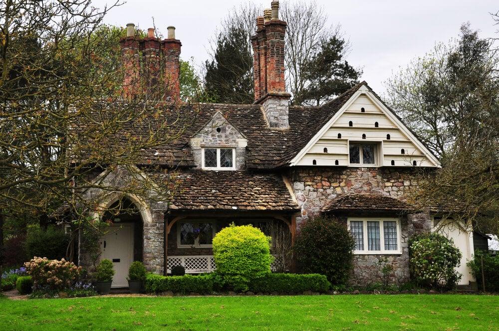 Preciosas casas de estilo cottage inglés