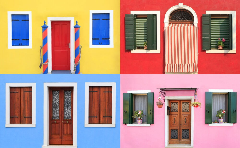 Tendencias de colores de fachadas para este 2019