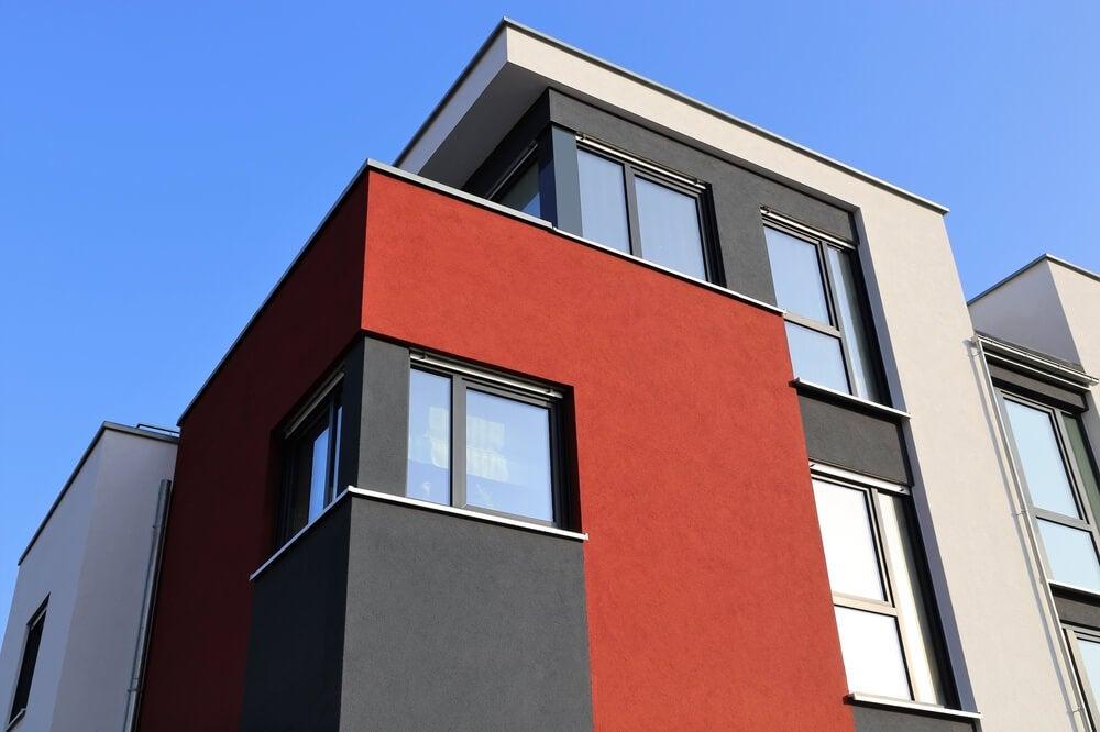Colores de fachadas.