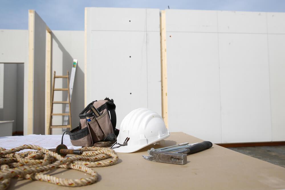 Construir una casa modular.