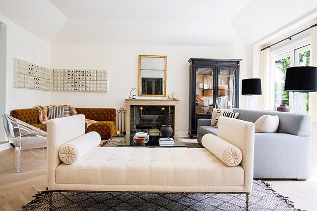 Decoración de interiores de estilo Hollywood Regency