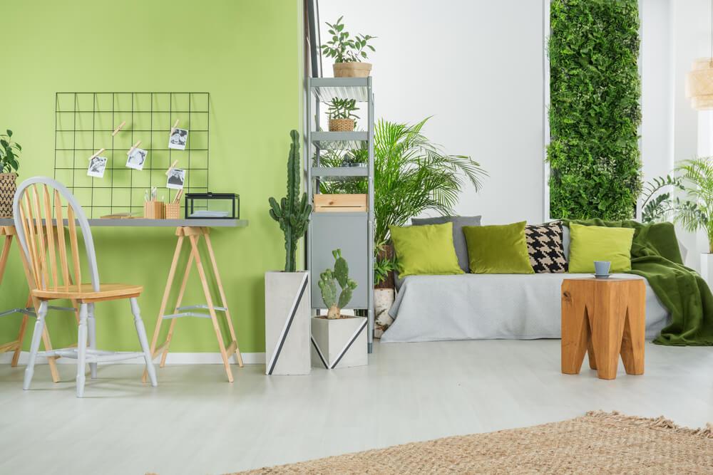 El verde pistacho y su aplicación en el hogar