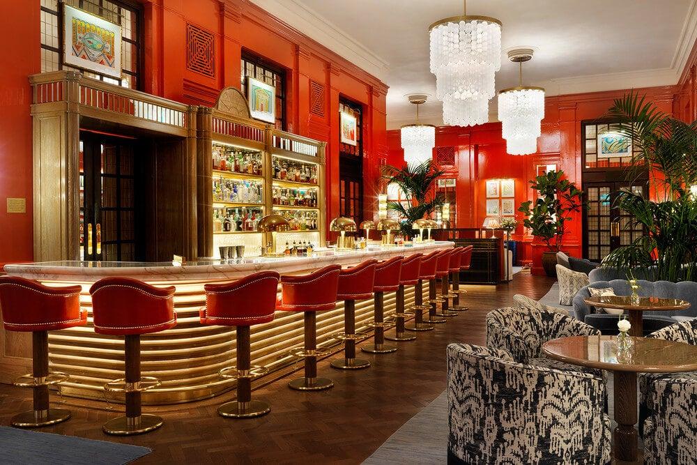 El estilo bloomsbury en decoración de interiores