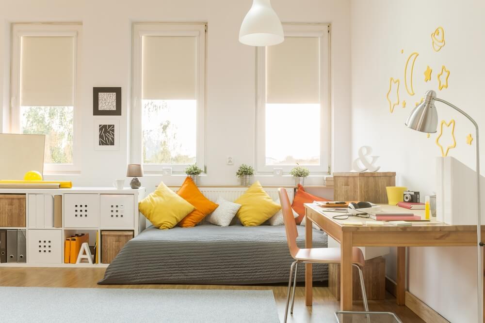 Cómo convertir una habitación infantil en una juvenil