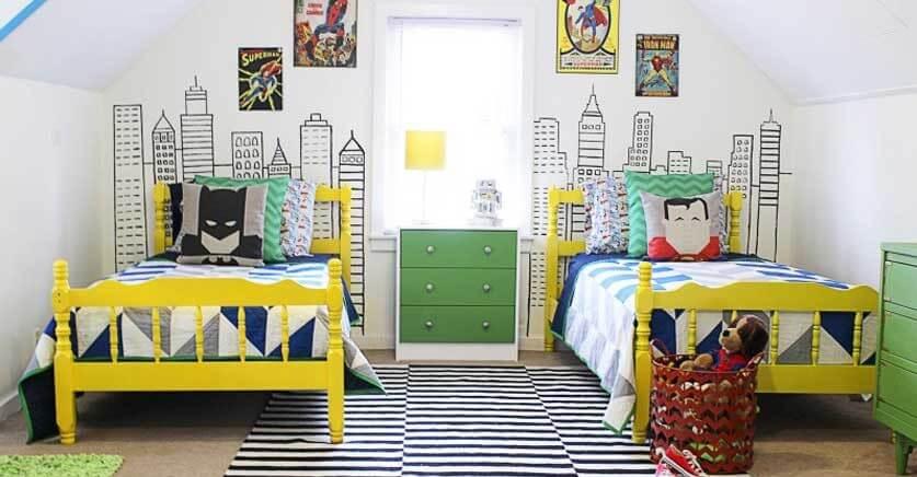 6 mejores temáticas para las habitaciones infantiles