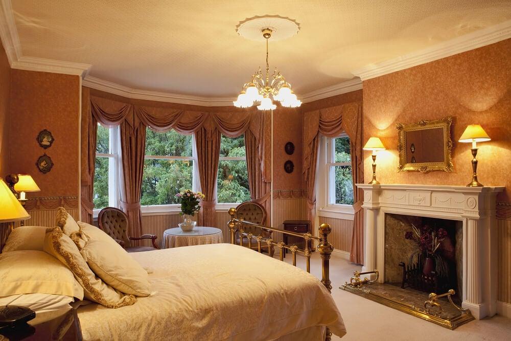 Interior de una casa victoriana.