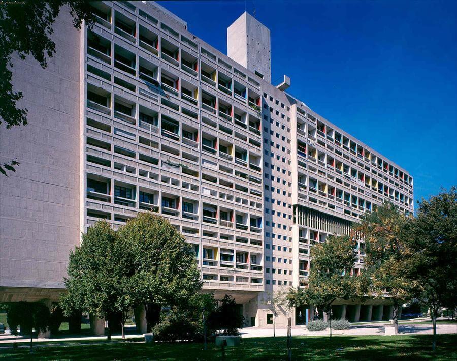 La unidad habitacional de Le Corbusier