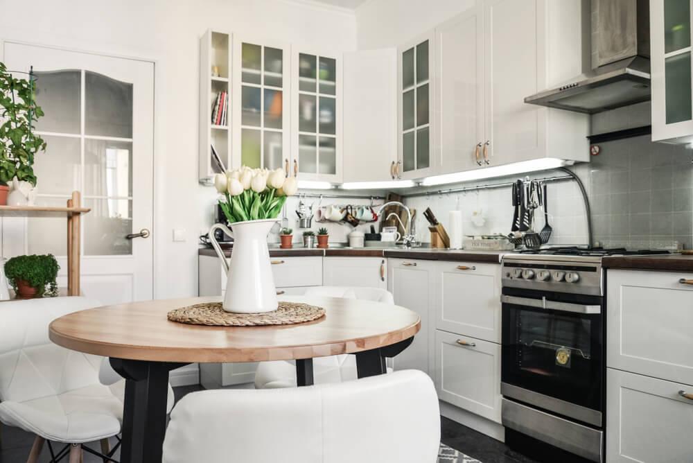 ¿Cómo elegir una mesa para la cocina?