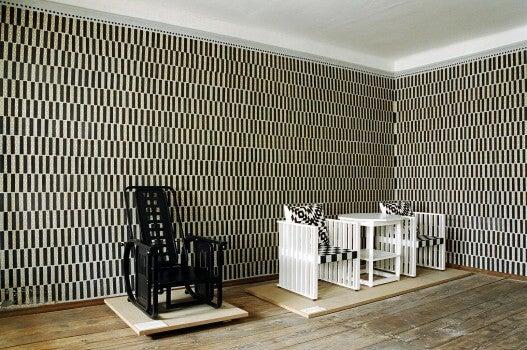 Mobiliario de Josef Hoffmann.