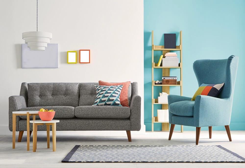 Personalizar un sofá.
