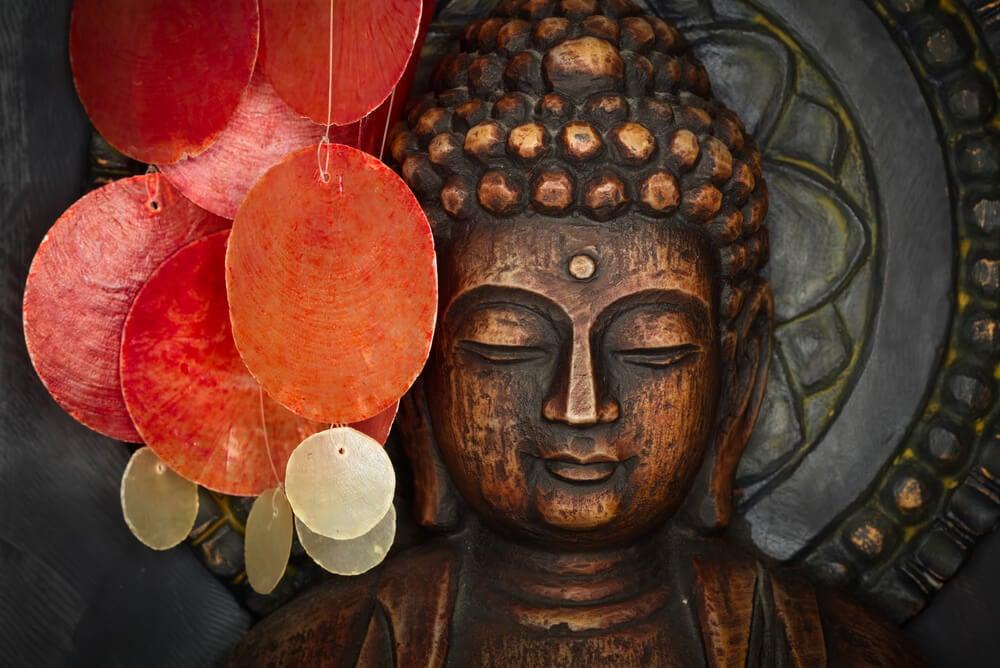 Representación de Buda.
