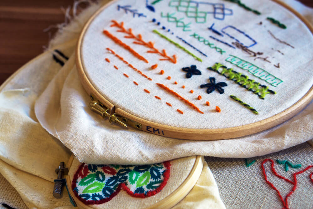 La vuelta de los bordados en decoración