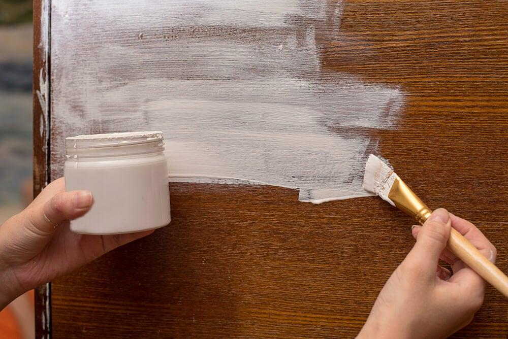 Uso del chalk paint.