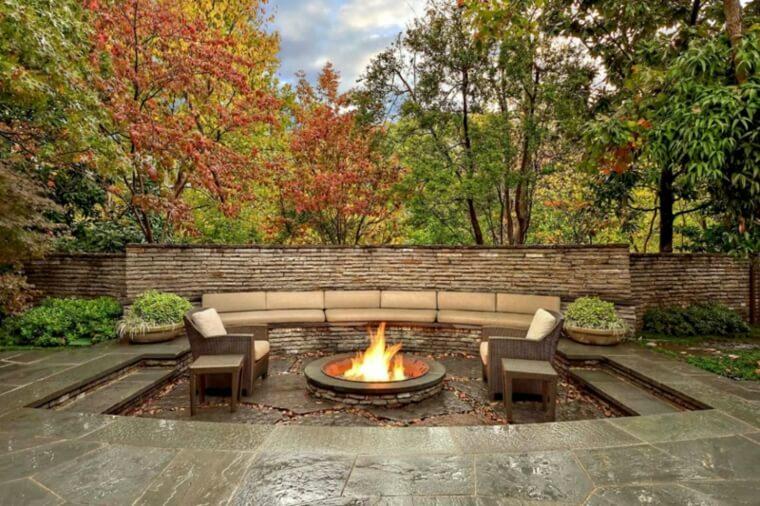 Consejos Para Construir Un Pozo De Fuego En El Jardín Mi