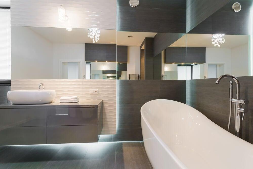 Cómo crear un diseño de baño contemporáneo