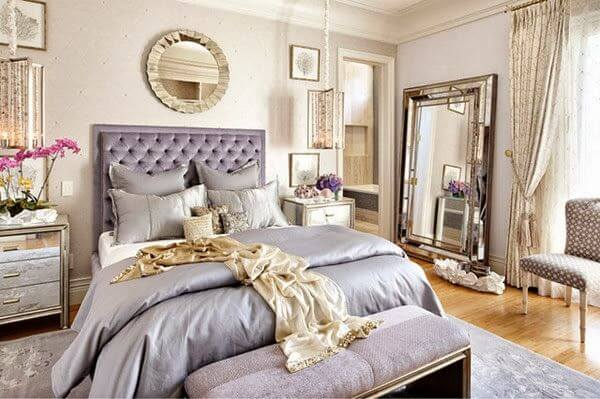 Dormitorio de decoración hotel boutique.