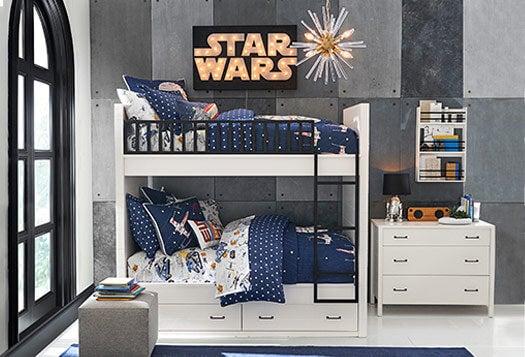 Dormitorio Star Wars.