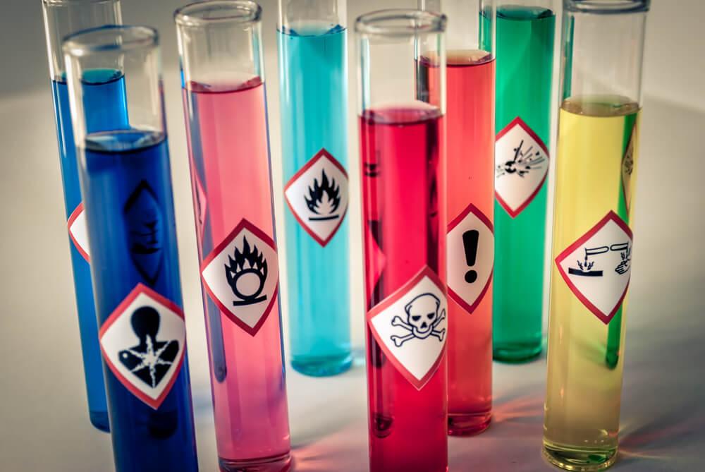 Elementos tóxicos.