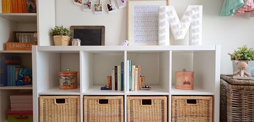 La estantería KALLAX de IKEA y mil formas de usarla