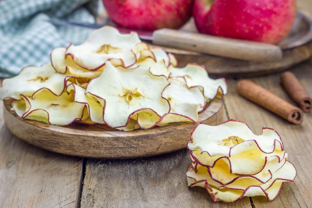 Frutas deshidratadas para la decoración del hogar