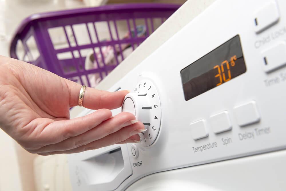 Funcionamiento de una secadora.
