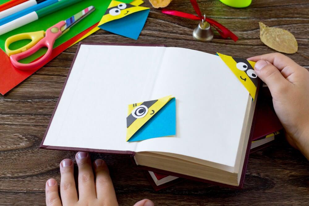 Ideas creativas para hacer marcapáginas