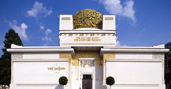 La estética del Pabellón de la Secesión de Viena