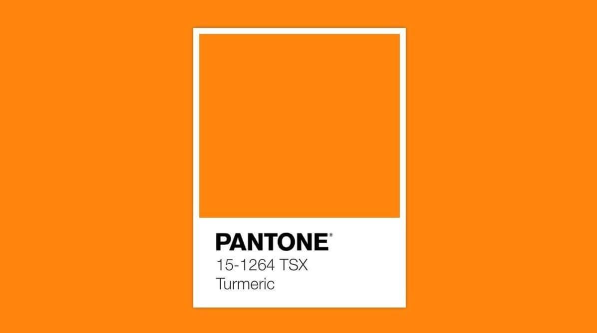 Pantone Turmeric.
