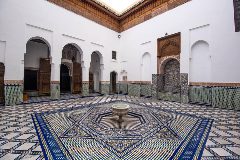 Patio árabe.